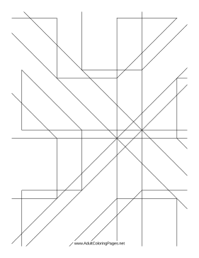 Angles coloring pages ~ Angles Coloring Page