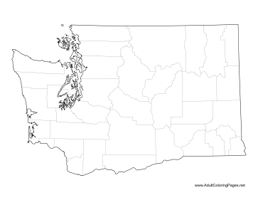 washington state coloring pages - photo#15