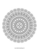 Blooming Mandala