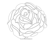 rose coloring pages games free - photo#42